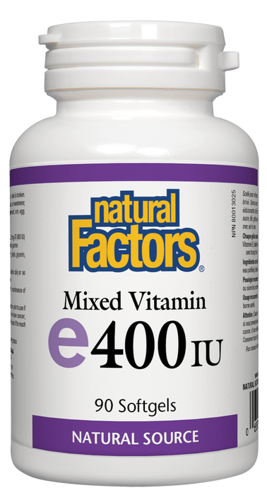 Natural Factors Mixed Vitamin E 400 IU | YourGoodHealth