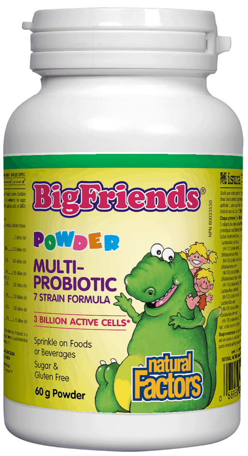 Natural Factors Big Friends Powder Multiprobiotic