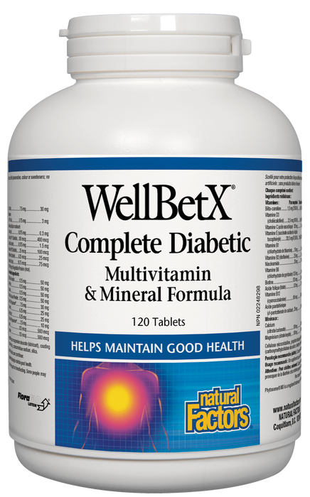 Natural Factors Diabetic Multivitamin | Your Good Health