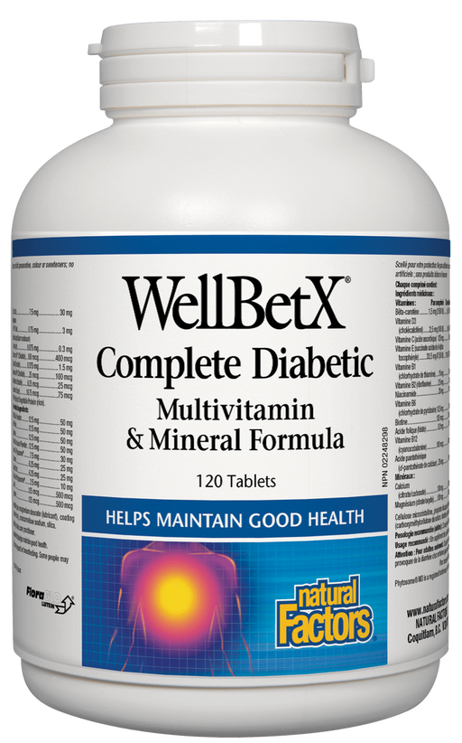 Natural Factors Diabetic Multivitamin | YourGoodHealth