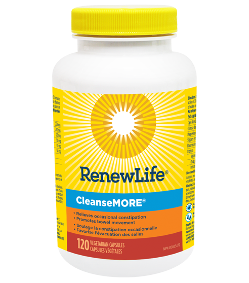 Renew Life Cleansemore 120 capsules | YourGoodHealth