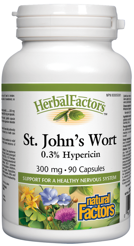 Natural Factors St John's Wort | YourGoodHealth