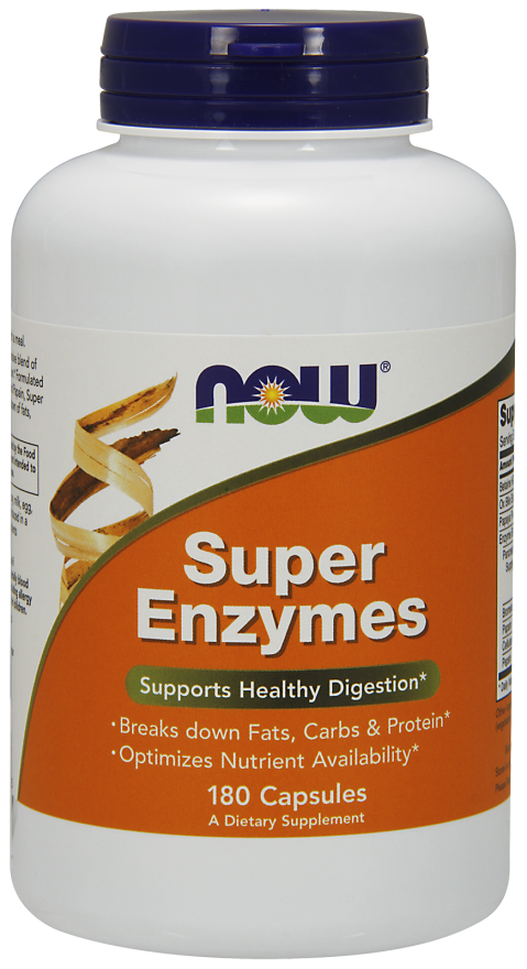 Now Super Enzymes Capsules 180 caps | YourGoodHealth