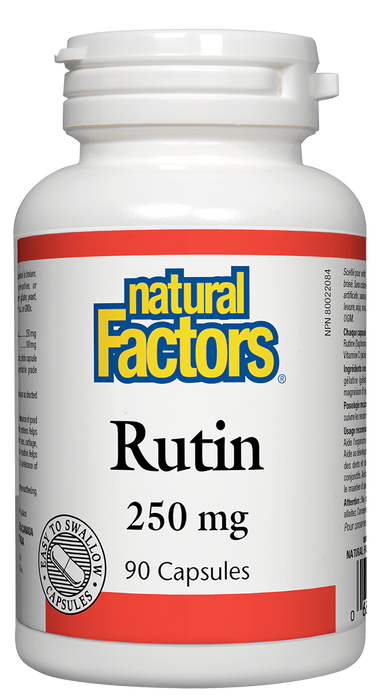 Natural Factors Rutin 250mg | Your Good Health