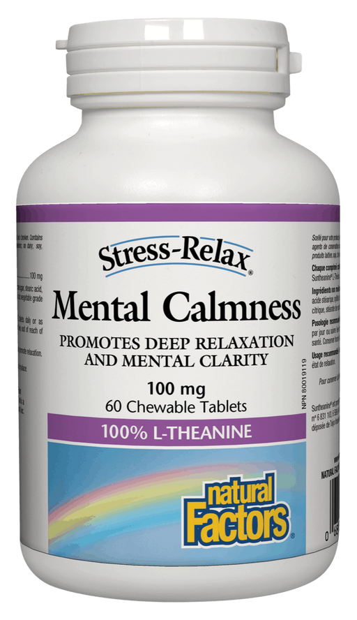 Natural Factors Mental Calmness Chewable | YourGoodHealth