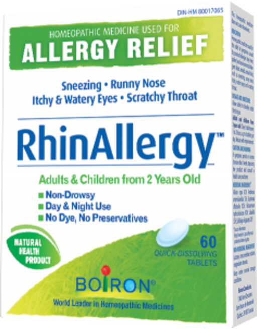 Boiron RhinAllergy 60 tablets | Yourgoodhealth