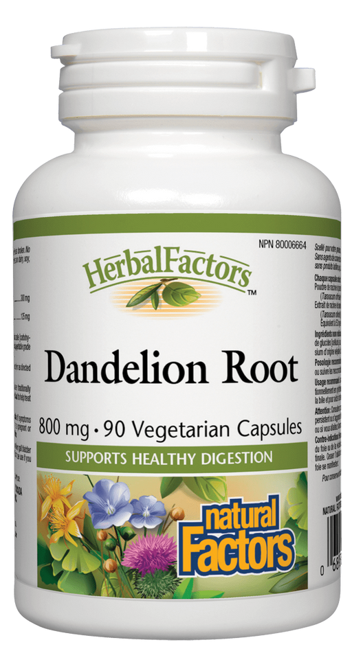 Natural Factors Dandelion Root | YourGoodHealth