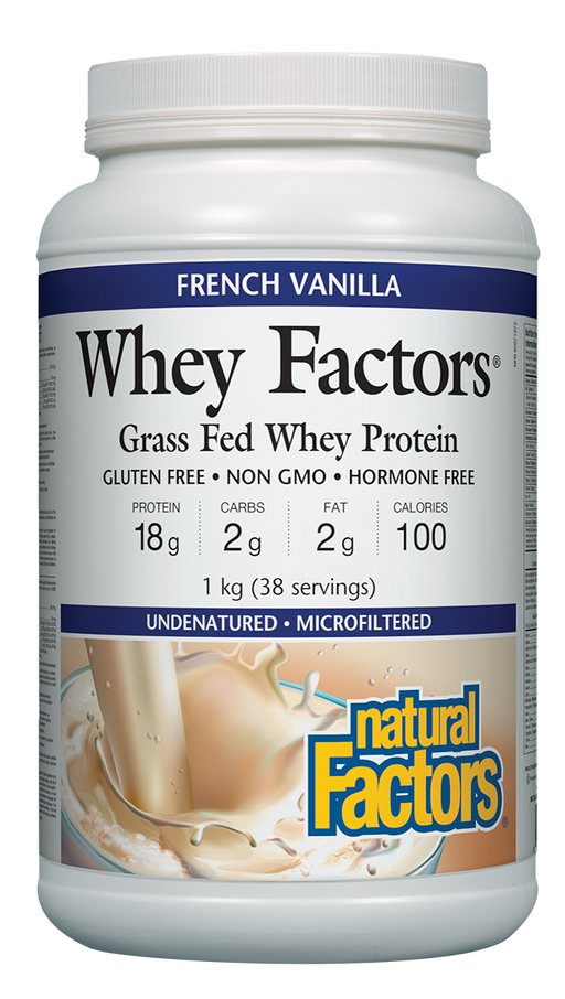 Whey Factors Vanilla Protein | YourGoodHealth