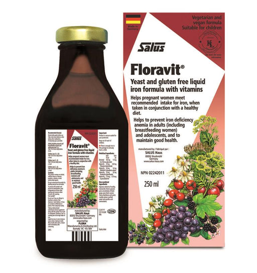 Salus Floravit Iron 250ml Yeast Free | YourGoodHealth