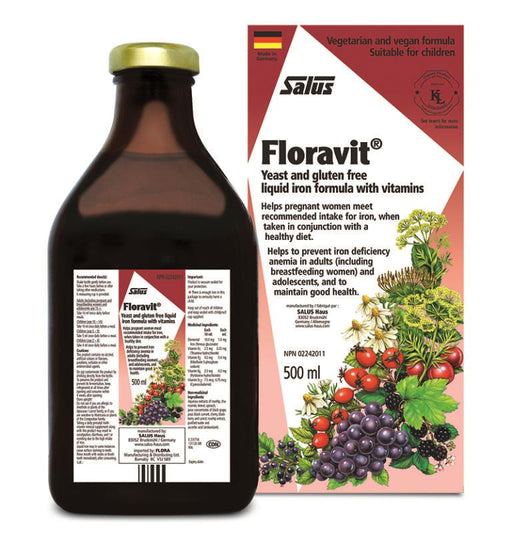 Salus Floravit Iron Yeast Free 500ml | YourGoodHealth