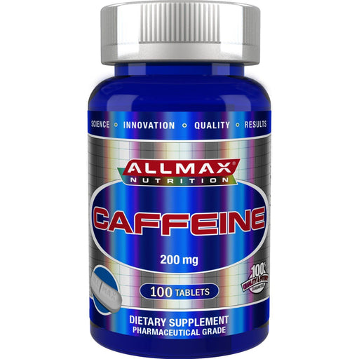 Allmax Caffeine 200mg 100 caps| YourGoodHealth