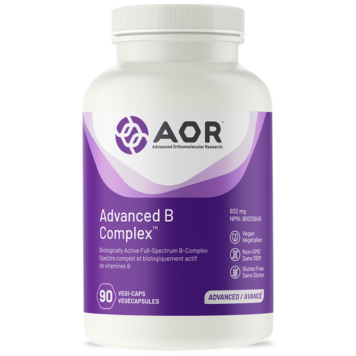 AOR Advanced B Complex 90 capsules | YourGoodHealth