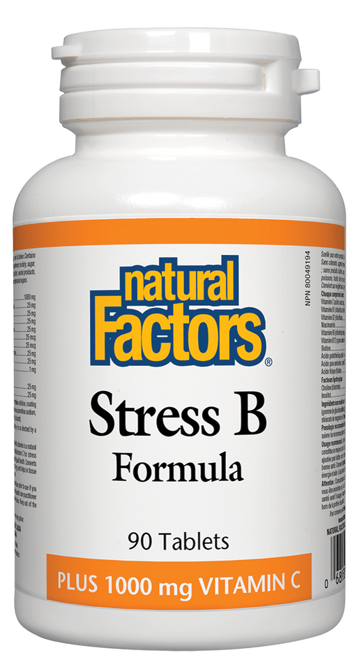 Natural Factors B Stress with C | YourGoodHealth