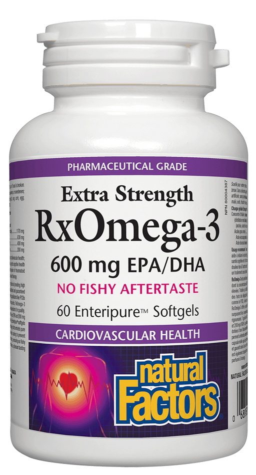 Natural Factors RxOmega 3 60 capsules | YourGoodHealth