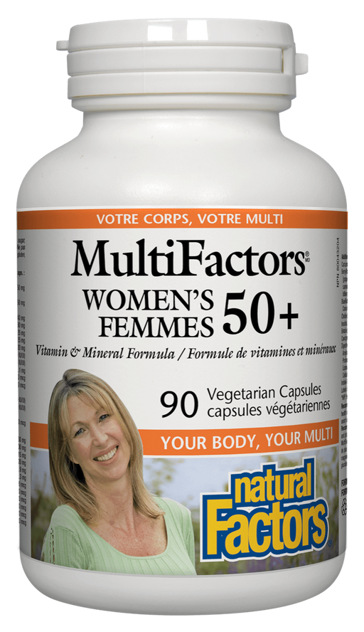 Natural Factors MultiFactors Women's 50+ | YourGoodHealth