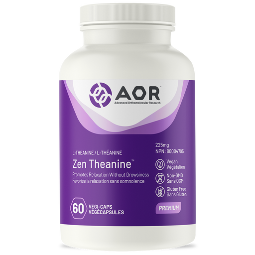 AOR Zen Theanine 60capsules | YourGoodHealth