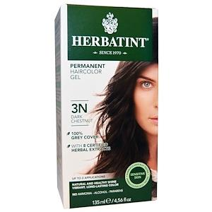 Herbatint Permanent Hair Colour 3N Dark Chestnut | YourGoodHealth