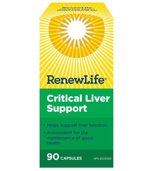 Renew Life Critical Liver Support | YourGoodHealth