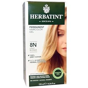 Herbatint Permanent Hair Colour 8N Light Blonde | YourGoodHealth