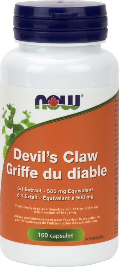 Now Devils Claw Root 500mg | YourGoodHealth