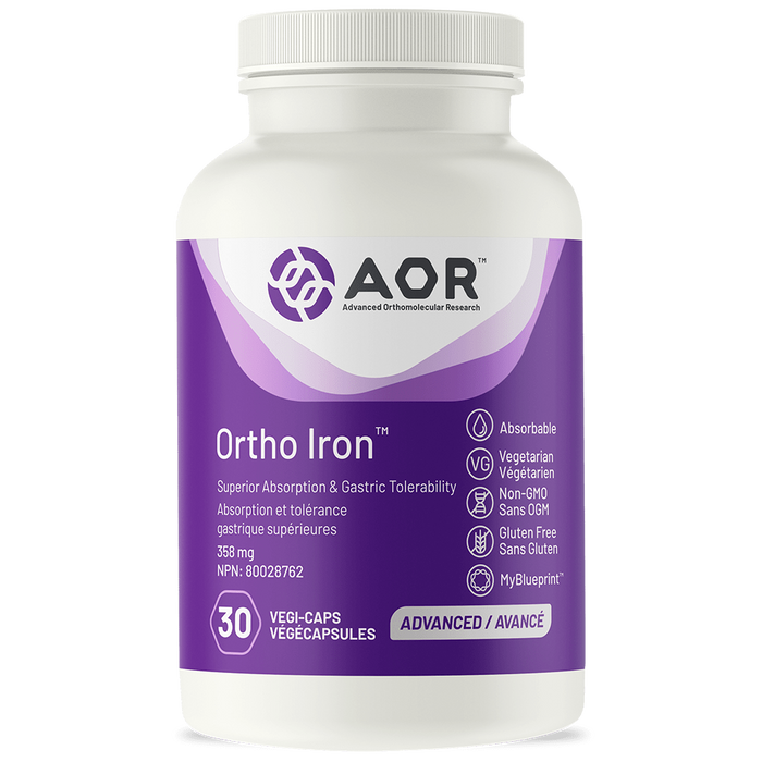 AOR Ortho Iron 30 capsules | YourGoodHealth