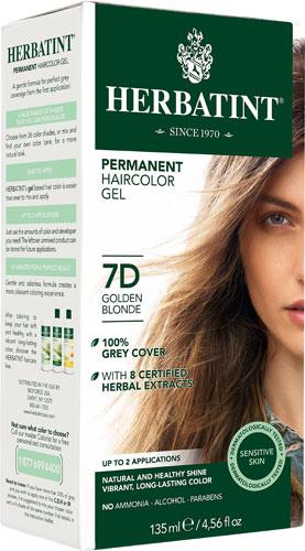 Herbatint Permanent Hair Colour 7D Golden Blonde | YourGoodHealth