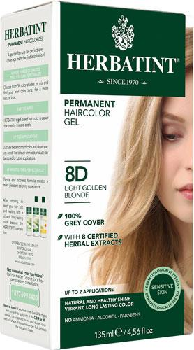 Herbatint Permanent Hair Colour 8D Light Golden Blonde | YourGoodHealth