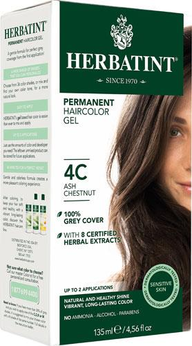 Herbatint Permanent Hair Colour 4C Ash Chestnut | YourGoodHealth