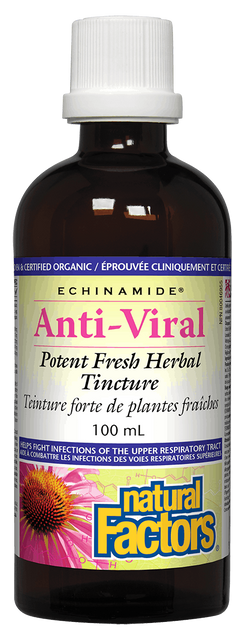 ECHINAMIDE Anti-Viral Potent Fresh Herbal Tincture 100 mL 100 Tincture