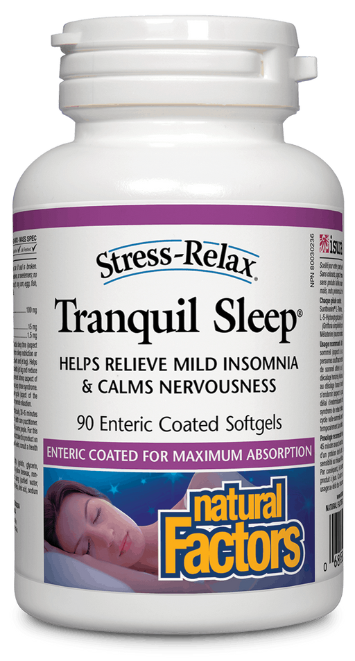 Natural Factors Tranquil Sleep 90 capsules | YourGoodHealth