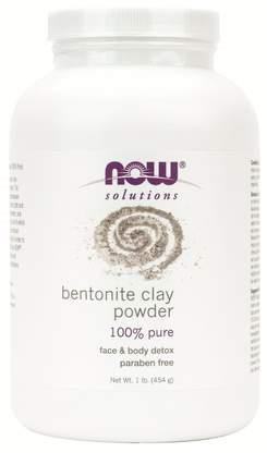 Now Bentonite Clay 1lb