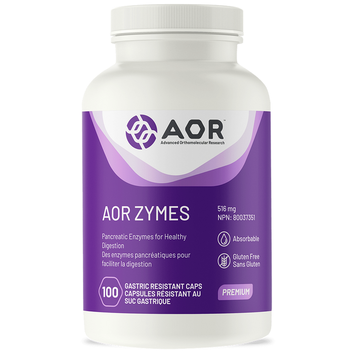 AOR Zymes 100 Capsules | YourGoodHealth