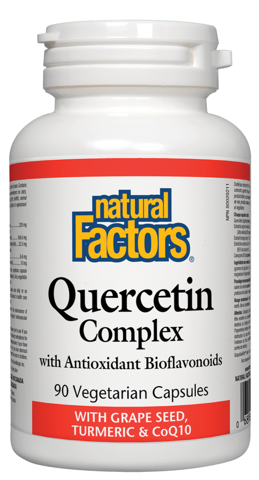 Natural Factors Quercetin Complex | YourGoodHealth