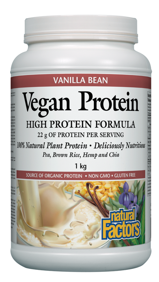 Natural Factors Vegan Protein Vanilla | YourGoodHealth