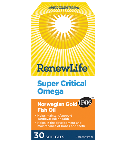 Renew Life Super Critical Omega 30caps | YourGoodHealth