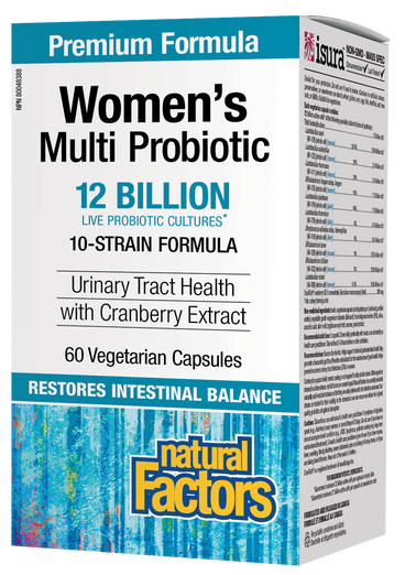 Natural Factors Women's Multi Probiotic with CranRich 60 cap