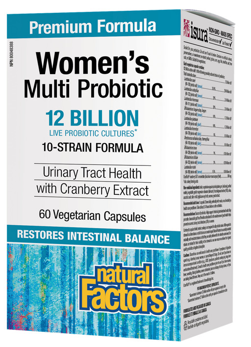 Natural Factors Women's Multi Probiotic with CranRich | YourGoodHealth