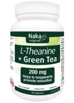 Naka L-Theanine with Green Tea | YourGoodHealth