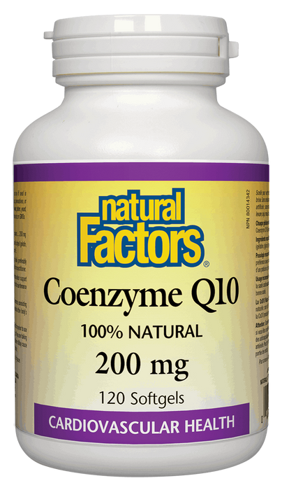 Natural Factors Coenzyme Q10 200 mg | YourGoodHealth