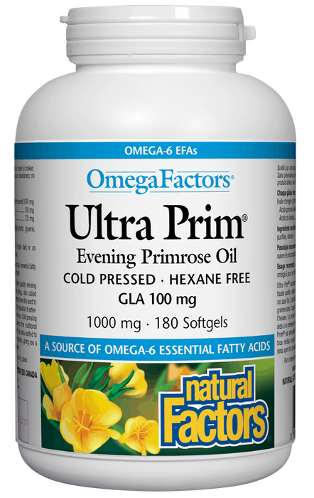 Natural Factors Evening Primrose Oil | Your Good Health