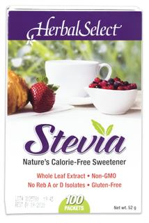 Herbal Select Stevia Packets | YourGoodHealth