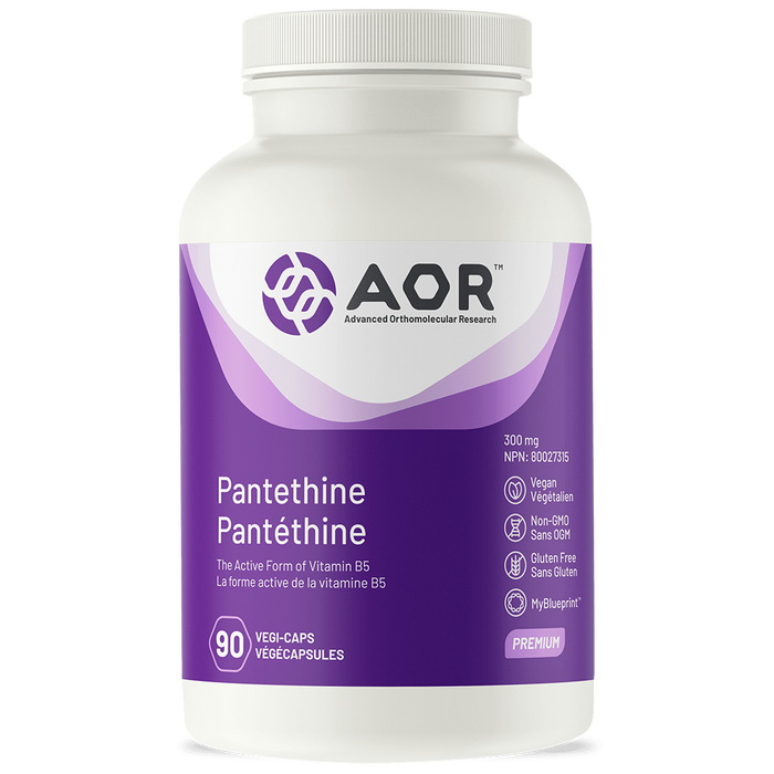 AOR Pantethine 90 capsules | YourGoodHealth