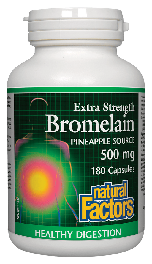 Natural Factors Bromelain 500mg | Your Good Health