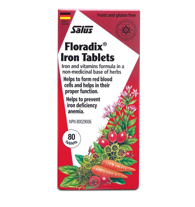 Salus Floradix Iron 80 Tablets | YourGoodHealth