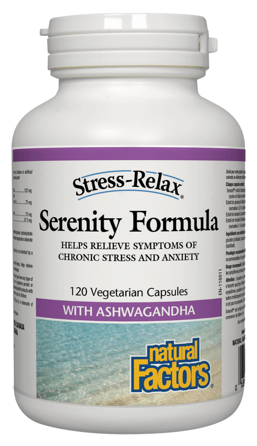 Natural Factors Serenity Formula 120 capsules | YourGoodHealth