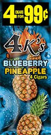 4 Kings Blueberry Pineapple 15ct