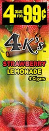 4 Kings Strawberry Lemonade 15ct
