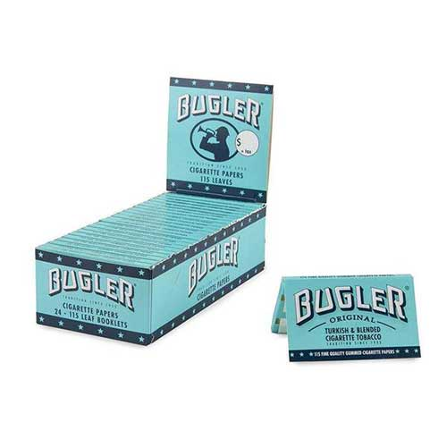Bugler Rolling Papers 24ct Box (115 Leaves)