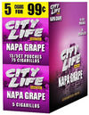 City Life Cigarillos Grape 15 Packs of 5