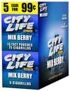 City Life Cigarillos Mixed Berry 15 Packs of 5